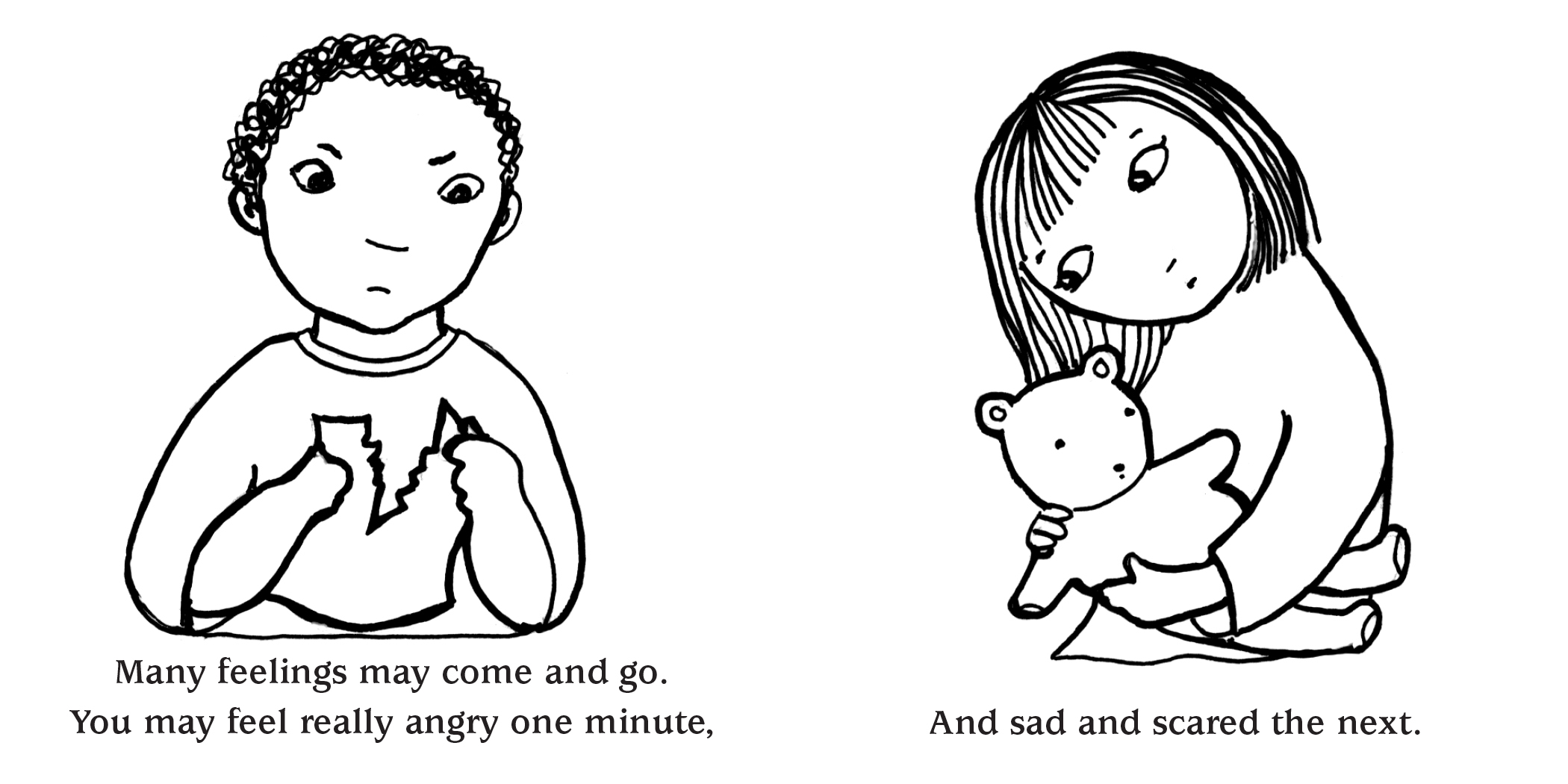 coloring pages on grief - photo#7