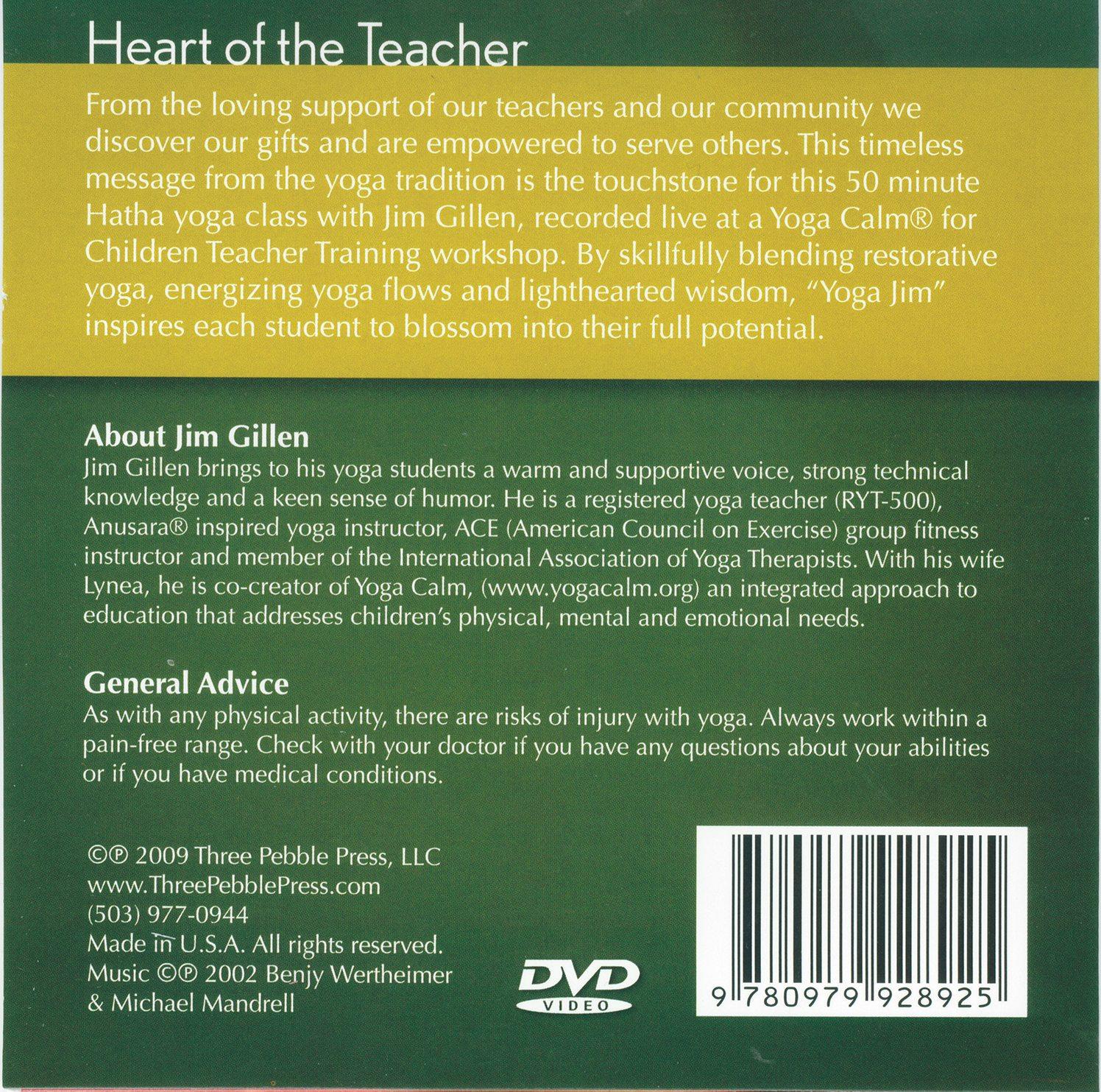 Heart of the Teacher Yoga DVD