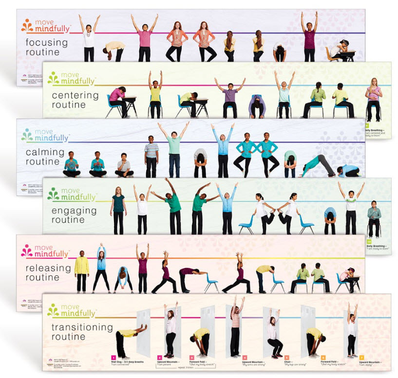 Move Mindfully Yoga Sequence Strips
